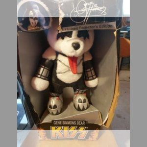 KISS Limited Edition Gene Simmons Bear